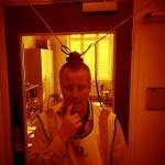 Loppemarked oktober 2013: Perfekte signalforhold inne på elektrisk avdeling...